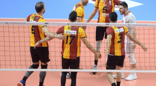Galatasaray HDI Sigorta, Altın Setle Turladı