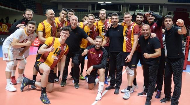 Galatasaray HDI Sigorta, Liberec'i 3-1 Mağlup Etti