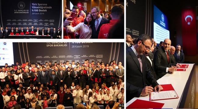 Gençlik ve Spor Bakanlığı ile YÖK Arasında İşbirliği Protokolü İmzalandı