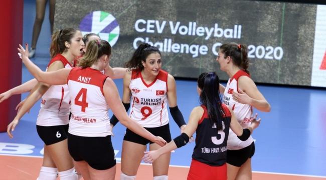Türk Hava Yolları, Challenge Kupası'nda Adını Son 16 Takım Arasına Yazdırdı