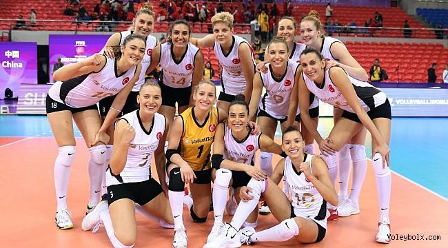 VakıfBank, Dünya Kulüpler Şampiyonası'na Galibiyetle Başladı