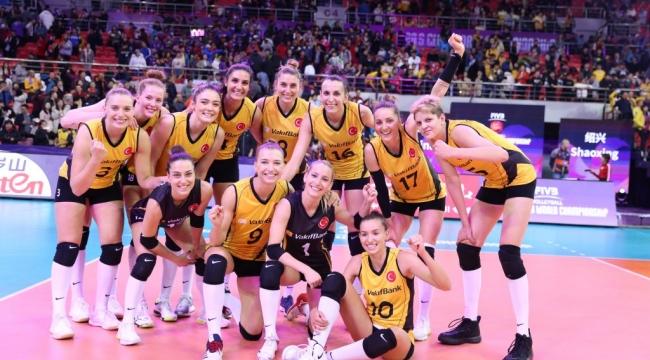 VakıfBank, Dünya Kulüpler Şampiyonası'nda Yarı Finalde