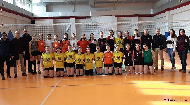 Altyapı Kız Voleybol Milli Takımları Sporcu Taramaları Çorum, Amasya ve Samsun'da Gerçekleştirildi