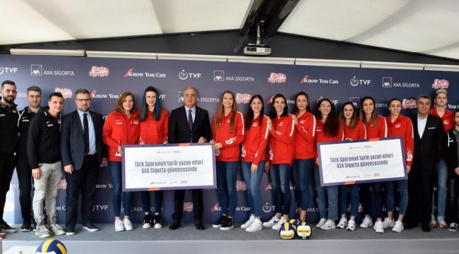 AXA Sigorta'dan Filenin Sultanları'na Başarı Primi ve Olimpiyat Sigortası