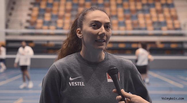 Fatma: 'Çok önemli bir maça çıkacağız'