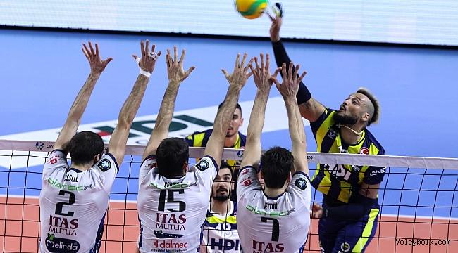 Fenerbahçe HDI Sigorta, Trentino'ya 3-1 Mağlup Oldu