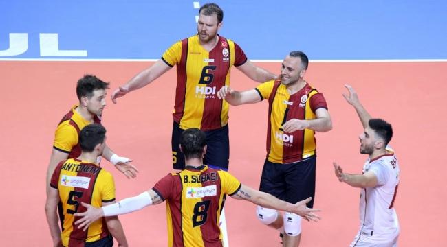 Galatasaray, C.S.M. Arcada Galati'yi 3-0 Mağlup Etti