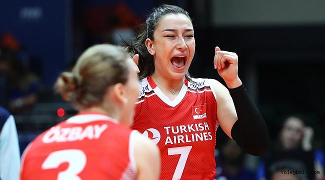 Hande Baladın: 'Hırvatistan karşılaşmasının zor geçeceğinin bilincindeyiz'