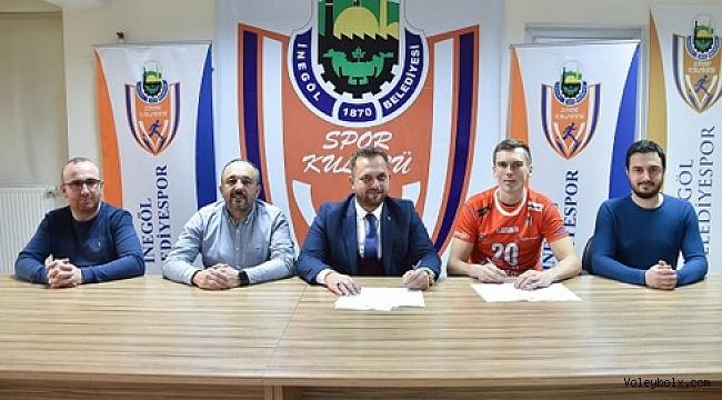 İnegöl Belediyespor Gustavsson ile imzaladı