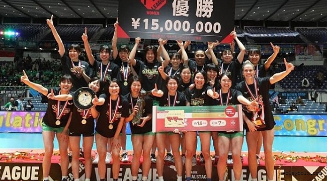JT Marvelous, Japonya Ligi'nde Şampiyon!..