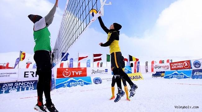Kar Voleybolu Toroslar'ın zirvesinde yapılacak