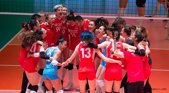 Olimpiyat Elemeleri'nde Yarı Finaldeyiz