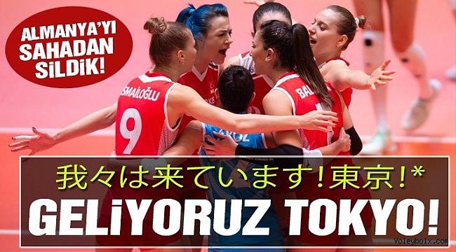Almanları Sahadan Sildik, 2020 Tokyo Olimpiyatları Vizesi'ni Kaptık!..