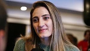 """Şeyma Ercan: """"Olimpiyat atmosferini yaşamayı, olimpiyat köyünde olmayı çok istiyorduk"""""""