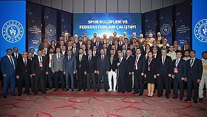 Spor Kulüpleri ve Federasyonları Çalıştayı Sona Erdi