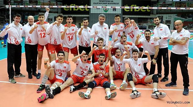 U18 Erkek Milli Takımımız, Avrupa Şampiyonası Finalleri'nde