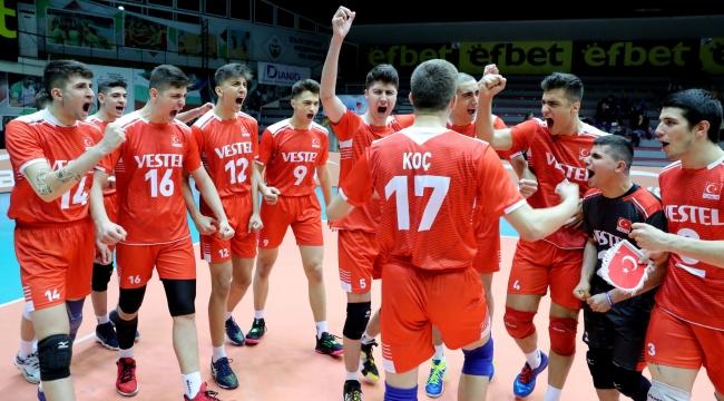 U18 Erkek Milli Takımımız, Balkan Şampiyonası'na Galibiyetle Başladı