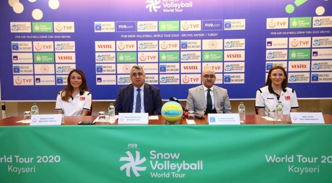 2020 FIVB Kar Voleybolu Dünya Turu Erciyes Etabı'nın Tanıtım Toplantısı Yapıldı