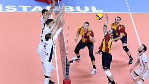CEV Kupası Maçında Galatasaray, Arkas'ı 3-1 Mağlup Etti