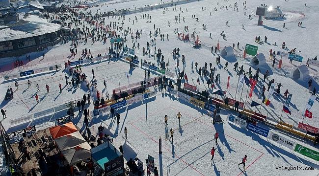 Erciyes, 2020 Kar Voleybolu Dünya Turu'na Ev Sahipliği Yapacak