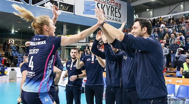 Ferhat Akbaşlı Chemik Police CEV Kupası'nda çeyrek finalde