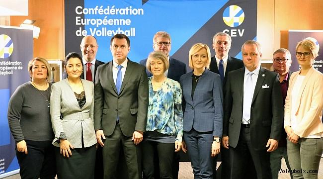 Nilüfer Shimonsky, Avrupa Kupaları Komisyonu Toplantısına Katıldı