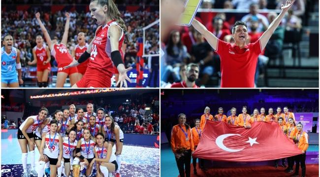 """""""Türk Voleybolu"""" Milliyet Yılın Sporcusu Ödülleri'nde Oylarınızı Bekliyor"""