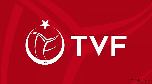 TVF'den Antrenörlere Duyuru