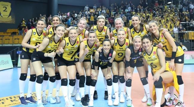 VakıfBank, Şampiyonlar Ligi'nde Çeyrek Finalde