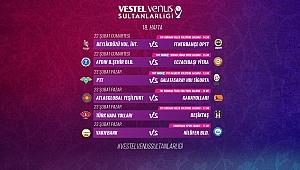 Vestel Venus Sultanlar Ligi'nde 18. Hafta Başlıyor