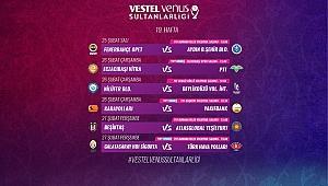 Vestel Venus Sultanlar Ligi'nde 19. Hafta Başlıyor