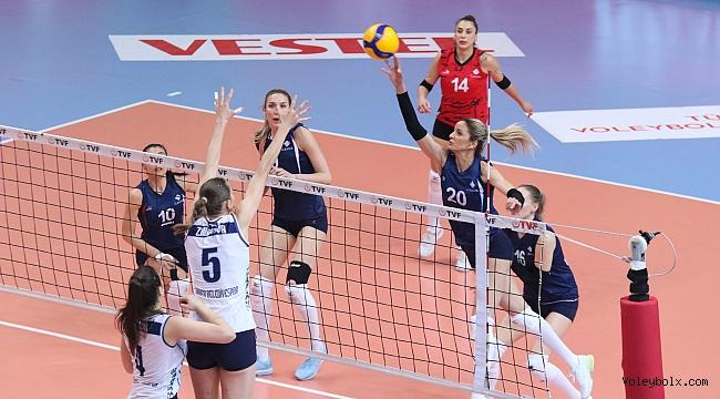 1. Lig Kadınlar Yarı Final Etabı Sona Erdi