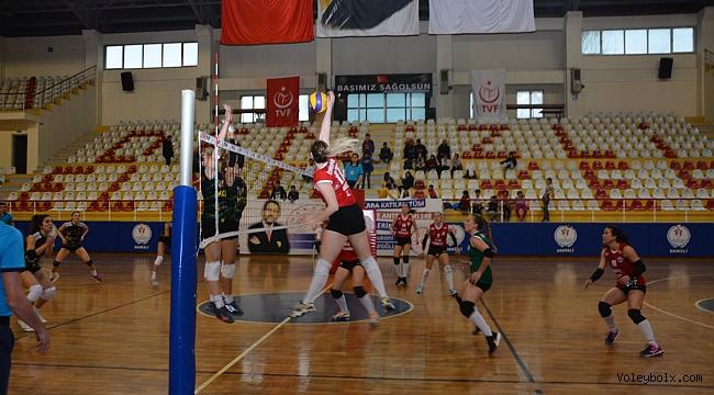 2. Lig Kadınlar Yarı Final Etabı'nda İkinci Gün Sona Erdi