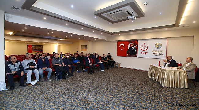 TVF 1. Lig Erkekler Yarı Final Etabı'nın Teknik Toplantısı Yapıldı