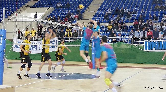 TVF Erkekler 2. Lig Yarı Final Etabı Sona Erdi
