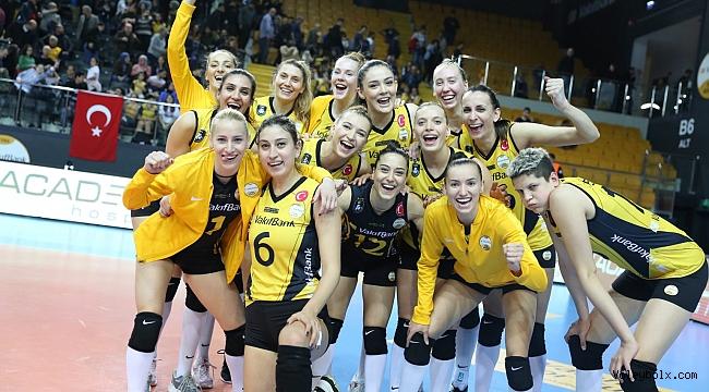 VakıfBank CEV Şampiyonlar Ligi'nde Yarı Finalde