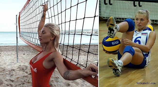 Milli oyuncu voleybolu bıraktı ve model oldu (FOTO)