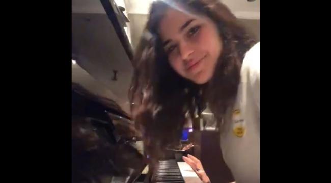 VakıfBank'ın genç yeteneğinden piyano resitali