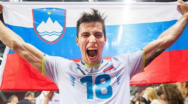 Asseco Resovia Rzeszow'un yeni transferi Klemen Cebulj