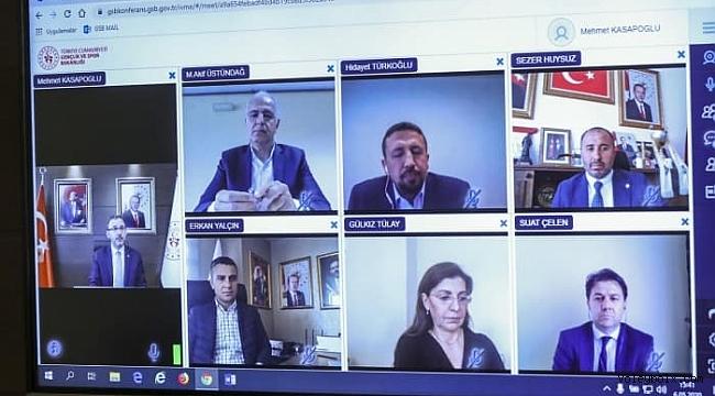 Bakan Kasapoğlu, futbol dışındaki branşların federasyon başkanlarıyla görüştü