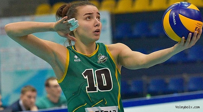 Ekaterina Evdokimova, Lokomotiv Kaliningrad'da...