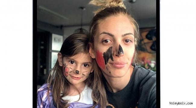 Milli voleybolcu Bahar Toksoy Guidetti: 'Mutlu çocuk mutlu anneyle olur'