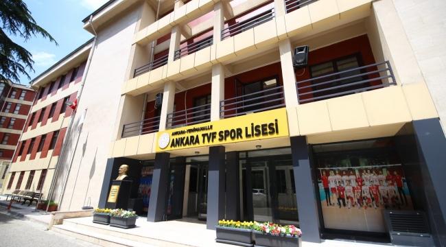 Ankara TVF Spor Lisesi Yetenek Sınavı Ön Kayıtları Hakkında Duyuru