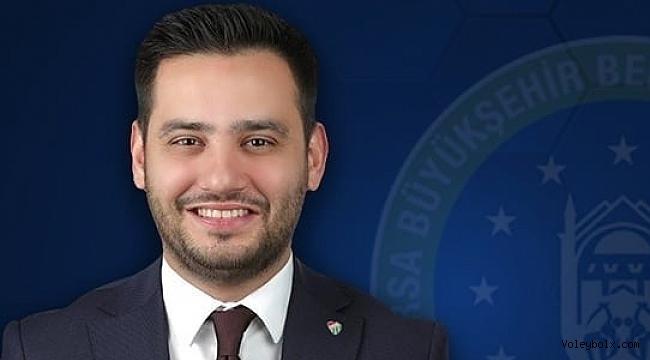 Bursa Büyükşehir Belediyespor Kulübü'nün yeni başkanı Gökhan Dinçer