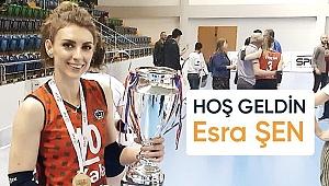 Esra Şen'in yeni takımı Sigorta Shop Kalecik Belediyespor