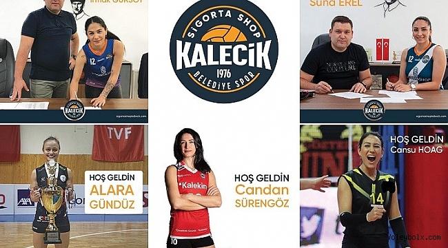 Sigorta Shop Kalecik Belediyespor'dan beş transfer