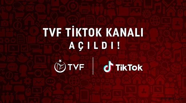 Türkiye Voleybol Federasyonu'nun Resmi TikTok Kanalı Yayında!