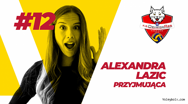 Alexandra Lazic, Developres SkyRes Rzeszow'da..