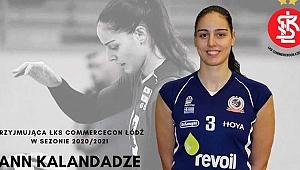 Ann Kalandadze LKS Lodz'da...