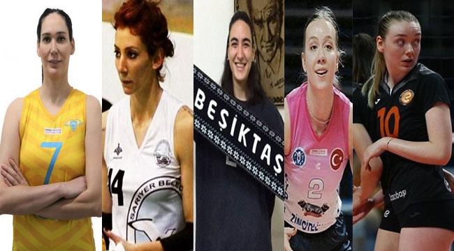Beşiktaş'tan 5 oyuncu transferi...